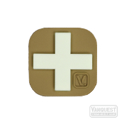 Vanquest Medical Cross Glow-In-The-Dark Patch TAN