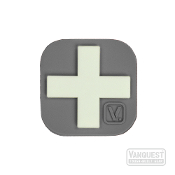 Vanquest Medical Cross Glow-In-The-Dark Patch GREY