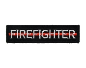 Firefighter Thin Red Line
