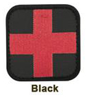 Black Medical Patch