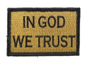 In God We Trust Coyote and Black
