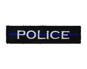 Police Thin Blue Line 1x4
