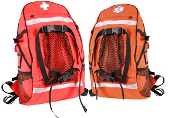 Orange EMS Trauma Backpack